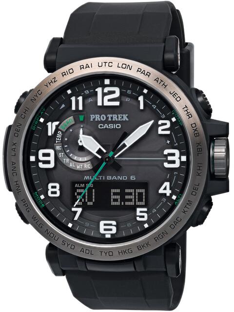 CASIO PRO TREK PRW-6600Y-1ER Uhr Herren black/silver /black